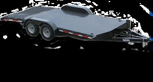 open car shipping hot-shot trailer